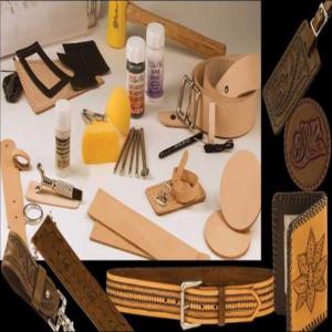 Kit Deluxe Carving Leather Set [55402-00]