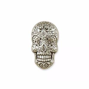 Concho Sugar Skull  - Nickel Free - 19 x 29 mm [71512-01]