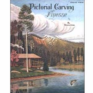 Pictorial Carving Finesse - Livre « Finesse de sculpture picturale » [61950-00]