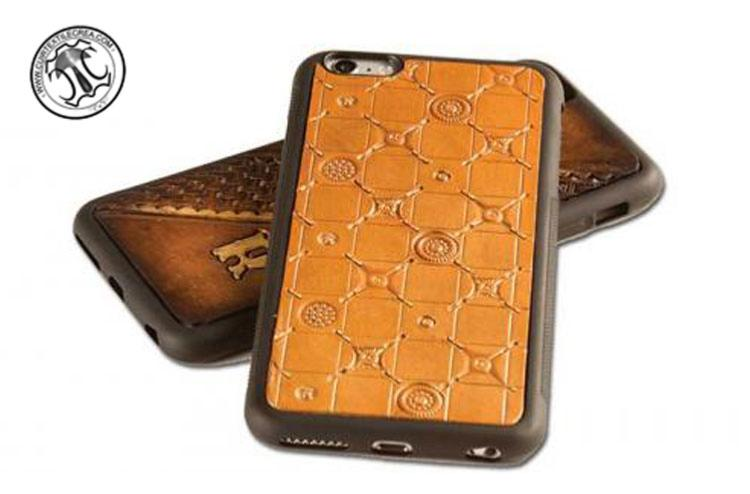 Kit cuir ligne ith que kit d tui incrust iphone 6 - Teinter du cuir ...