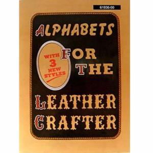 "Alphabets for the Leather Crafter - Livre ""Alphabets pour les artisans de cuir"" [61936-00]"