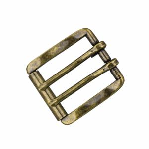 Boucle Roller Buckle- Laiton vieilli - 38 mm