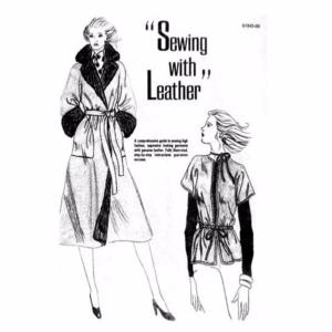 "Sewing With Leather - Livre ""Couture avec le cuir"" [61945-00]"