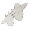Craftool Acrylic Templates - Pointed Strap End [3604-03]